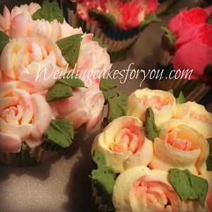 Roses made with Russian Piping Tips