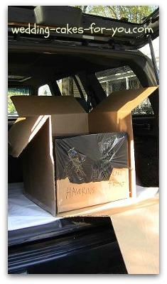 wedding cake boxes for transporting transporting wedding cakes 22067