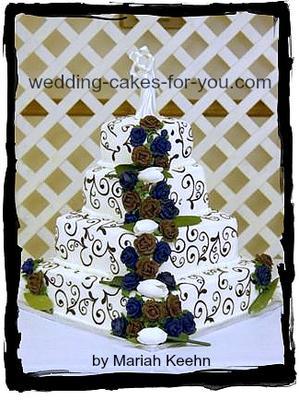 tulip wedding cake design