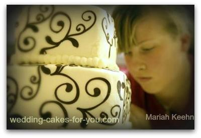 Me working on the cake