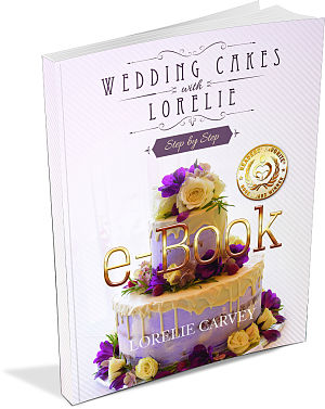 Lorelie Carvey's baking and cake decorating book