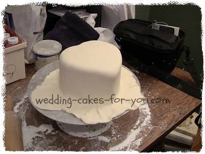 what type of icing would you use to cover the cake